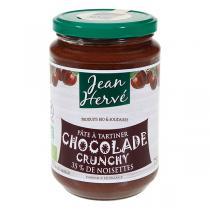 Jean Hervé - Pâte à tartiner Chocolade Crunchy bio 750g