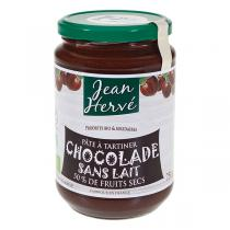Jean Hervé - Pâte à tartiner Chocolade Sans Lait bio 750g