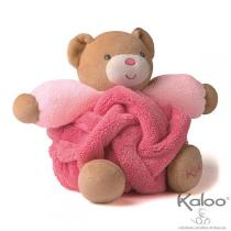Kaloo - Peluche P'tit Ours Framboise