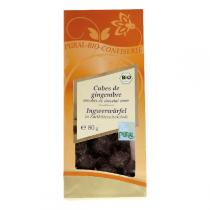 Pural - Chocolate Ginger Cubes Organic 80g
