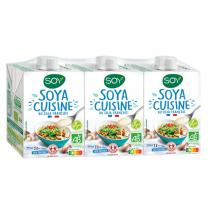 Soy - Soya cuisine origine France 3x20cl