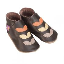 Starchild - Pantofole in cuoio Starchild Autumn Chocolate