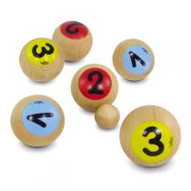 Vilac - Bolsa de 6 bolas de petanca 1,2,3