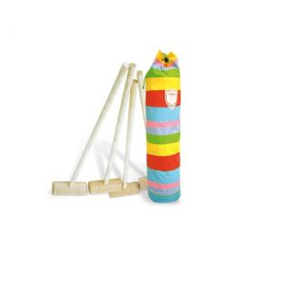 Vilac - 4 Player Junior Croquet