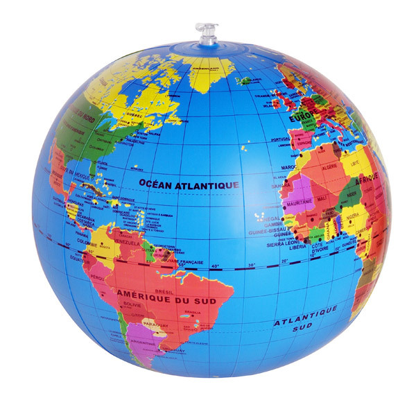 Caly - Mappemonde gonflable New Globe - Dès 6 ans