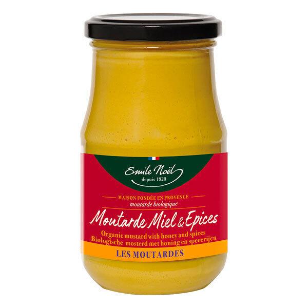 Emile Noel - Moutarde au miel et épices 200g