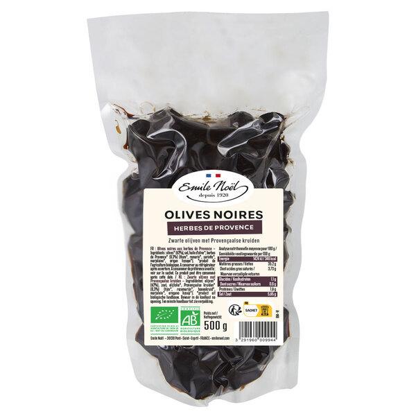Emile Noel - Olives noires herbes de provence 500g