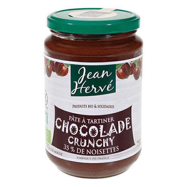 Jean Hervé - Pâte à tartiner chocolade crunchy 750g