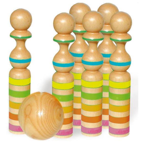 Vilac - 6 piezas Ruban en madera 31 cm
