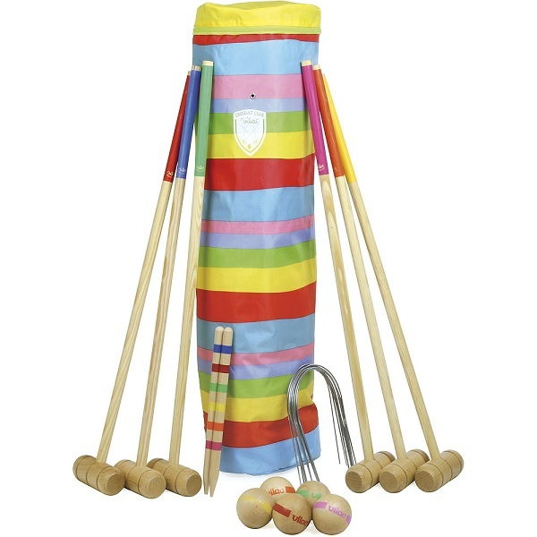 Vilac - 6 Player Croquet