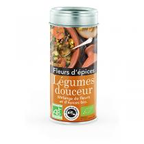 Aromandise - Fleurs d'Epices Légumes Douceur - Tube 45g