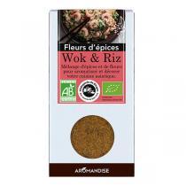Aromandise - Fleurs d'Epices Woks et Riz Bio 48g
