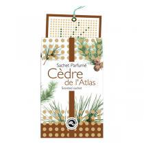 Aromandise - Sachet parfumé Cèdre de l'Atlas