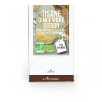 Aromandise - Tisane Citron Gingembre Bio 20 sachets