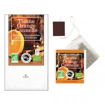 Aromandise - Tisane Orange Cannelle Bio 20 sachets