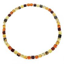 BalticWay - Adult Mixed Amber Cube Necklace
