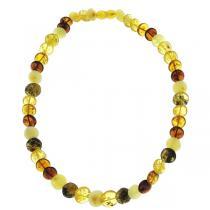 BalticWay - Collar de Ámbar Mixto en forma de Perlas Adulto