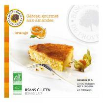 Biscuiterie de Provence - Torta biologica mandorle e arancia 225 g