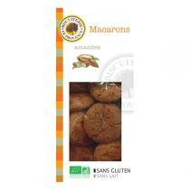 Biscuiterie de Provence - Macarons moelleux aux Amandes BIO 140g