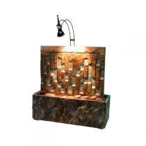 Cactose - Zen-Brunnen Schieferstein