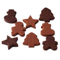 Chocolats Schonenberger - Décoration Chocolat Noël - 100g