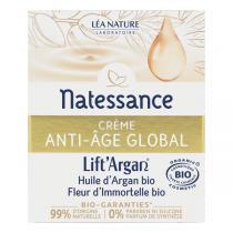 Natessance - Crème anti-âge global Lift'Argan 50ml