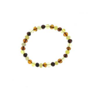 BalticWay - Adult Mixed Amber Bead Bracelet