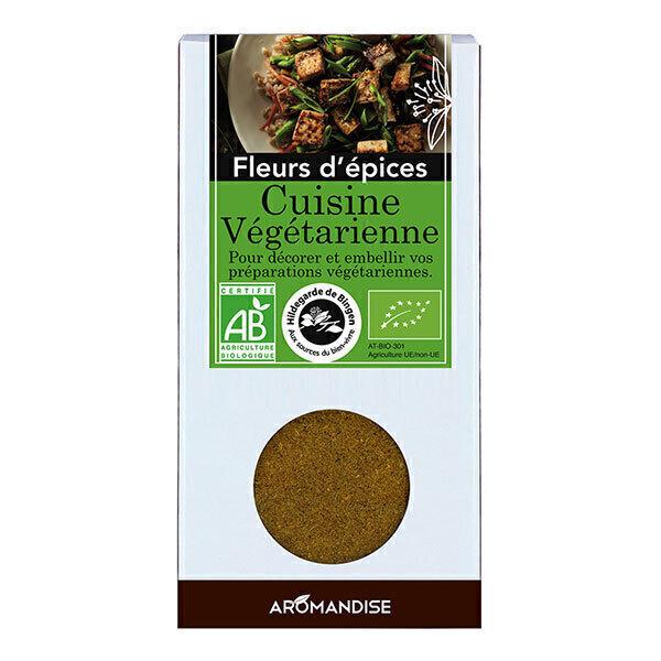 Fleurs d 39 epices cuisine v g tarienne bio 38g aromandise - Cuisine bio vegetarienne ...