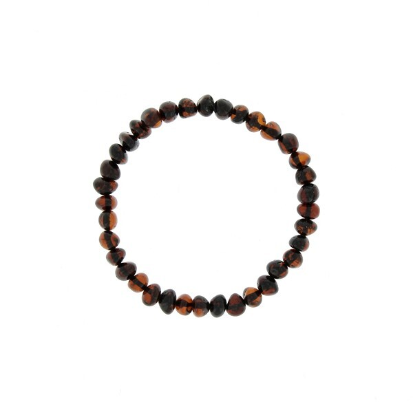 BalticWay - Adult Cherry Amber Bead Bracelet