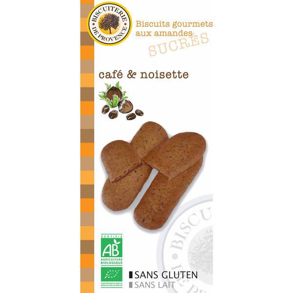 Biscuiterie de Provence - Almond Hazelnut Coffee Biscuits 65g