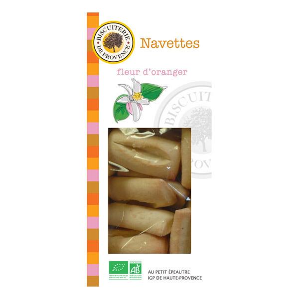 Biscuiterie de Provence - Organic Orange Blossom Navettes