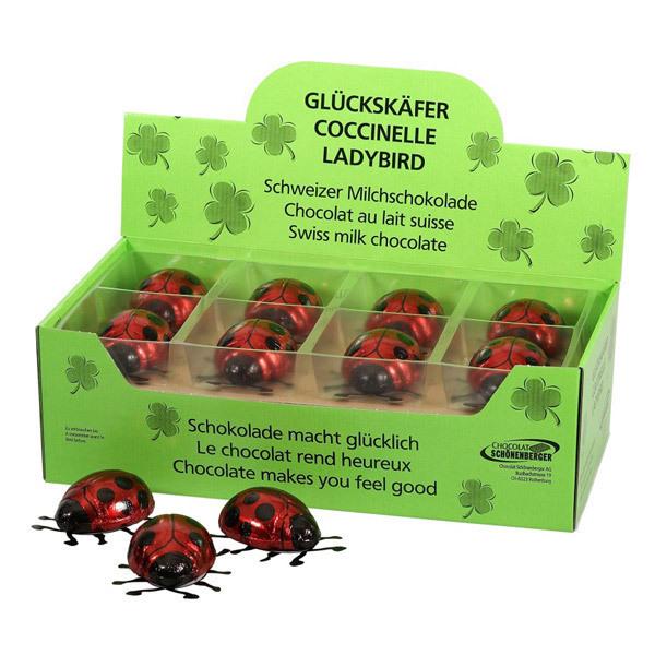 Coccinelle au chocolat au lait 40g chocolats schonenberger acheter sur - Acheter des coccinelles ...