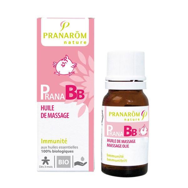 Pranarôm - Organic Massage oil Immunity 10ml