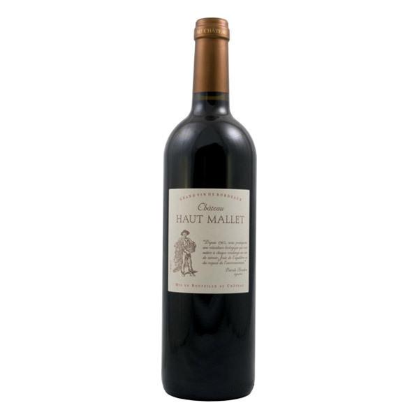 Bordeaux Château Haut Mallet Red Wine 75cl Organic Wines ...