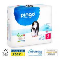 Pingo - 40 couches ecologiques jetables T4 7-18kg