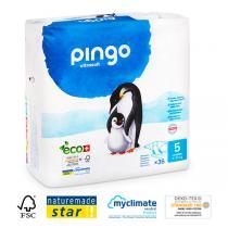 Pingo - 36 couches ecologiques jetables T5 11-25kg