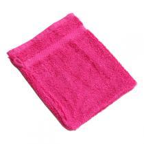 Anaé - Waschlappen aus Bio-Baumwolle in Himbeerrot