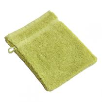 Anaé - Waschlappen aus Bio-Baumwolle in anisgrün