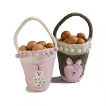 Én Gry og Sif - Rabbit Easter Basket