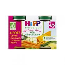 HiPP - Mes Premiers Légumes dès 4m - 4x125g