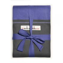 Je Porte Mon Bebe - Echarpe de portage modèle iris poche anthracite