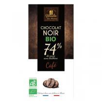 Moulin des Moines - Chocolat Noir Café BIO 100g