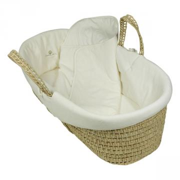 Eveil & Nature - Moses Basket with cotton cover