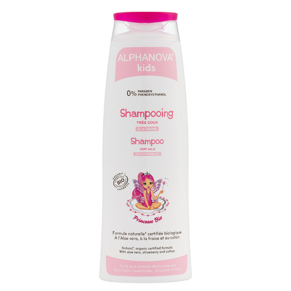 shampoing princesse bio et sans paraben 200ml alphanova la r f rence bien. Black Bedroom Furniture Sets. Home Design Ideas