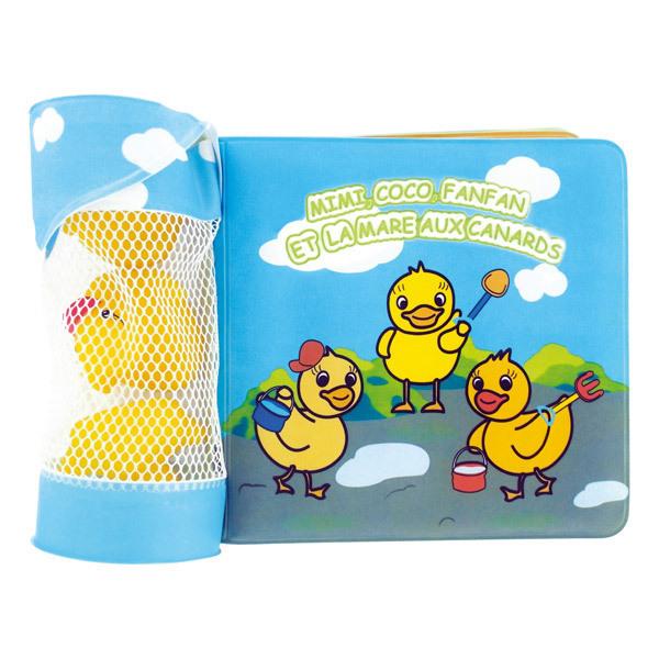 dBb Remond - Livre de bain + 3 jouets de bain