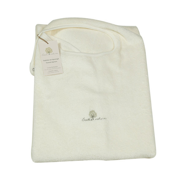 Eveil & Nature - Organic Cotton baby bath Apron Towel