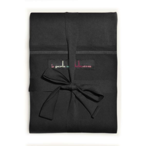 Love Radius - Echarpe de portage modèle noir poche noire