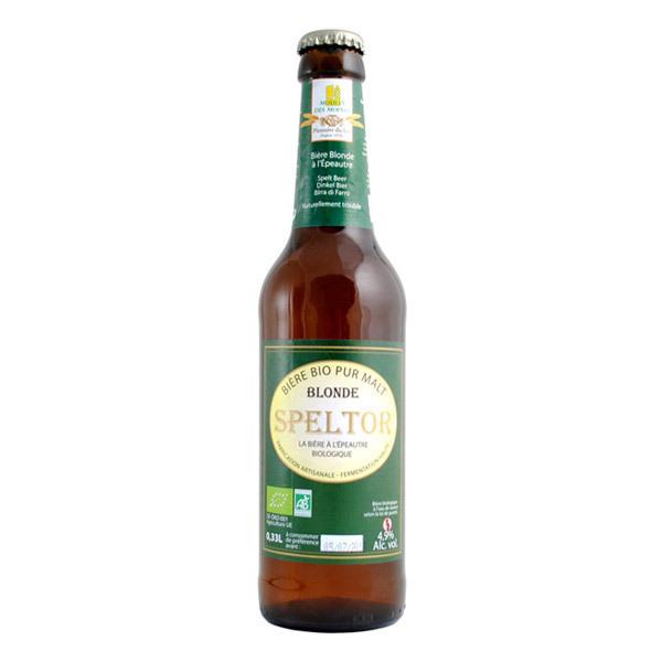 Moulin des Moines - Bière Blonde Speltor BIO 33cL