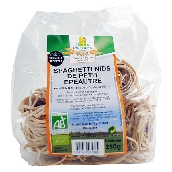 Moulin des Moines - Spaghetti de Petit Epeautre BIO 250g