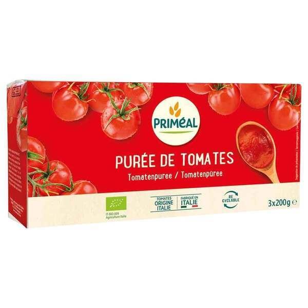 Priméal - Purée de tomates 3x200g